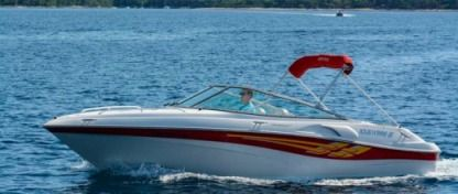 Rental Motorboat Fourwinns Sundowner 215 Mali Losinj