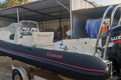 Rental RIB Cobra 750 PICTON Astakos