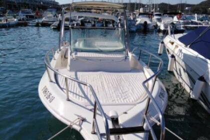 Rental Motorboat Aquamar Walkaround Menorca