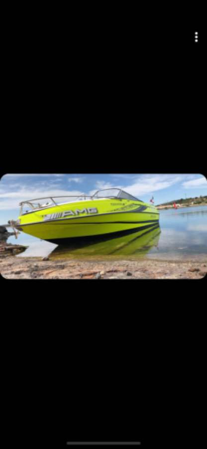 Miete Motorboot Four Winns 205 Sundowner La Grande-Motte