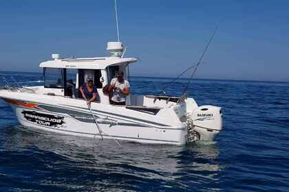 Hire Motorboat BENETEAU BARRACUDA 7 Dieppe