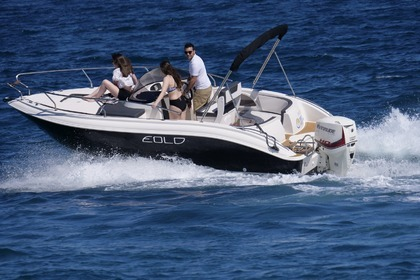 Rental Motorboat Eolo 590 Day Roses