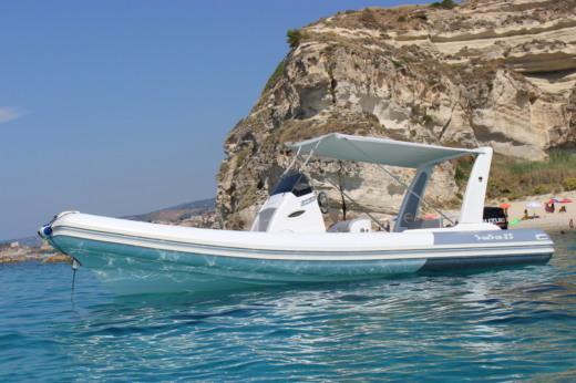 Noleggio Nautica Service D'aleo Sun Sea 25 a Tropea ...