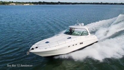 Rental Motorboat Sea Ray 52 Sunny Isles Beach