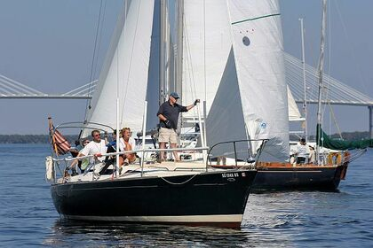 Hire Sailboat Morgan 30' Morgan Sailboat Charleston