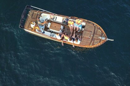 Hire Motorboat Traditional Wooden Boat Apero Budva
