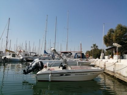 Rental Motorboat Karel 450 Open Sitges