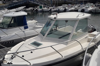 Rental Motorboat Clear Liner 530 Port-Louis