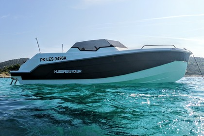 Charter Motorboat Husaria 570 Rab