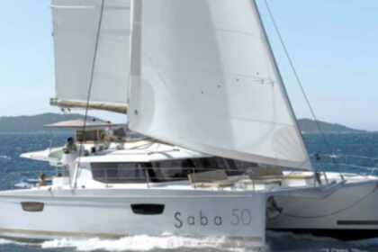 Rental Catamaran Fountaine Pajot Saba 50 Le Marin