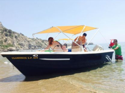 Verhuur Motorboot Yachting Club 490 2009 Rhodos
