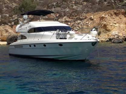 Charter Motorboat Fairline 55 Squadron Sliema
