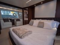 Charter motor yacht in Naples