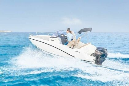 Rental Motorboat Quicksilver Activ 605 Sundeck Rab