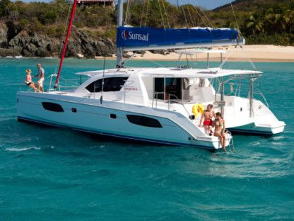 Rental Catamaran Sunsail 444 Leeward Islands