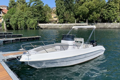 Rental Motorboat Tancredi Open 19 Verbania