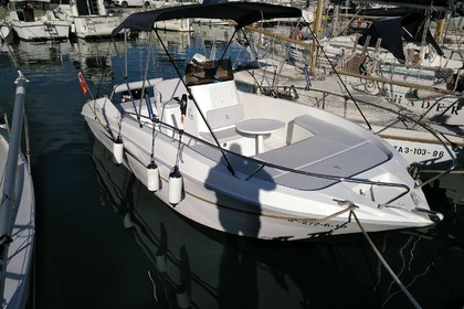 Charter Motorboat Siren Axtilux 600 Open Castelldefels