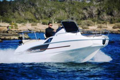 Charter Motorboat Beneteau Flyer 5.5 Split