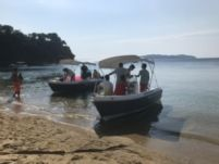 Charter motorboat in Skiathos
