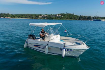 Rental Motorboat Quicksilver 525 Flamingo Poreč
