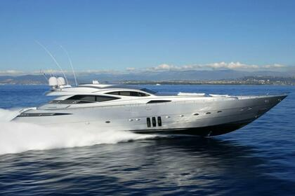 Location Yacht PERSHING 115 Cannes