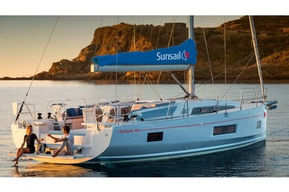 Rental Sailboat Sunsail 46 Mon Road Town