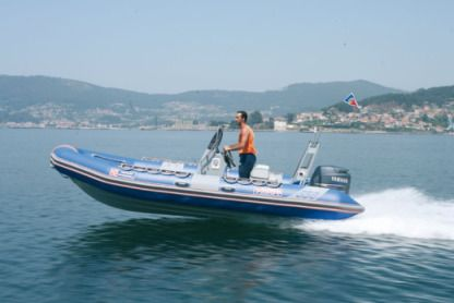 Charter RIB Narwhal Hd 550 Brest
