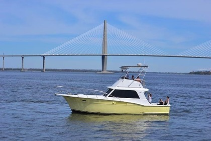 Hire Motorboat Hatteras Convertible Charleston