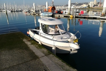 Miete Motorboot Quicksilver 580 pilothouse Le Havre