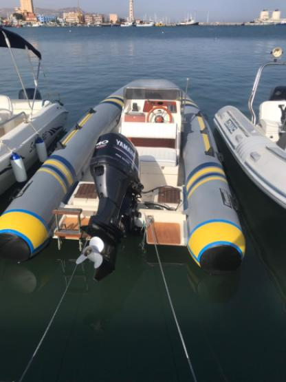 Rental RIB Marlin 570 Licata