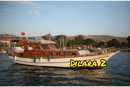 Rental Motorboat Custom Made Dilara 2 Foça