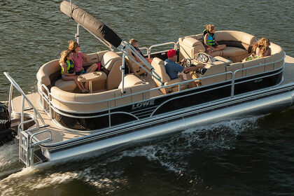 Charter Motorboat Pontoon 28 Ocean City