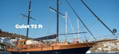 Rental Sailboat Gulet 72 Mykonos