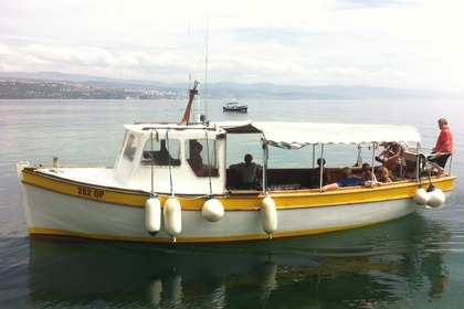 Miete Motorboot Traditional Wooden Boat Contessa 1 Opatija
