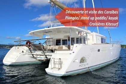 Location Catamaran LAGOON 450 FLYBRIDGE Marigot