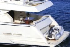 Ferretti 760 Fly in Mykonos for hire