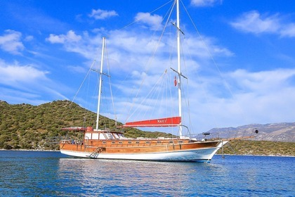 Hire Sailboat Wooden Turksih Gulet NAOS Göcek