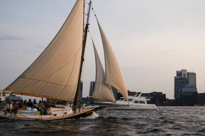 Charter Sailboat Custom Friendship sloop Boston