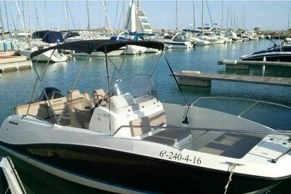 Rental Motorboat Quicksilver Activ 605 Open Castellón