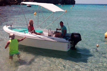 Rental Motorboat Stable 400 Cala en Porter