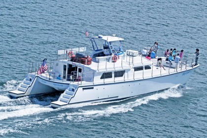 Location Catamaran Cooper Marine 63′ catamaran Barnstable