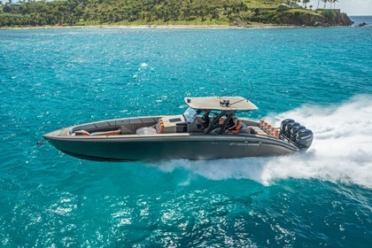 Rental Motorboat Midnight Express 43 Charlotte Amalie