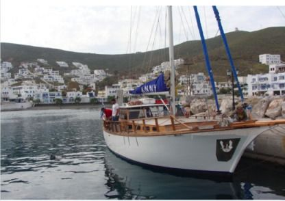 Charter Sailboat Taylor Made Wooden Traditional Heraklion