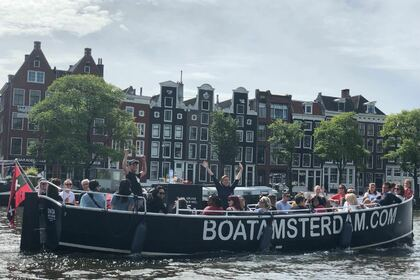 Verhuur Motorboot Custom Sloep The Sinta Amsterdam
