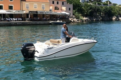 Rental Motorboat Quicksilver OPEN 505 Veli Lošinj