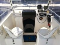 Motorboat Saver 540 Cabin Fisher
