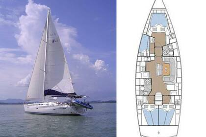 Rental Sailboat BAVARIA 46 Phuket