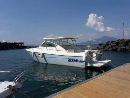 Charter Motorboat Ocean Yacht Wave 35 Cruiser Praiano