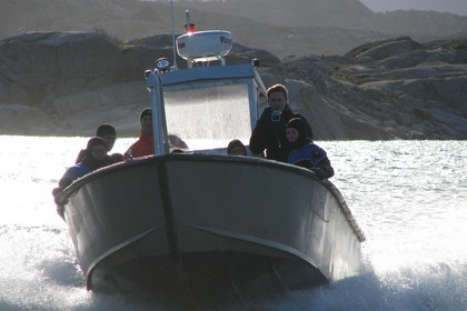 Hire Motorboat Custom Diving Boat Hamburgsund