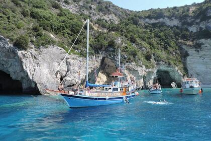 Charter Sailboat Wooden Sailing Boat Parga